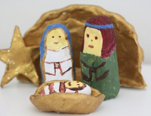Christmas Crafts - DIY Nativity Scene