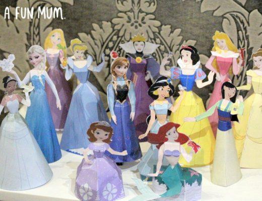 Disney Printable Paper Dolls
