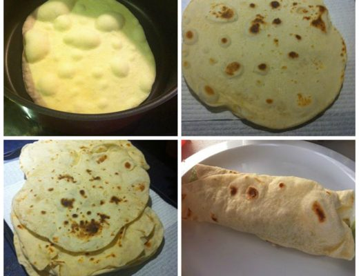 Thermomix Wraps Recipe
