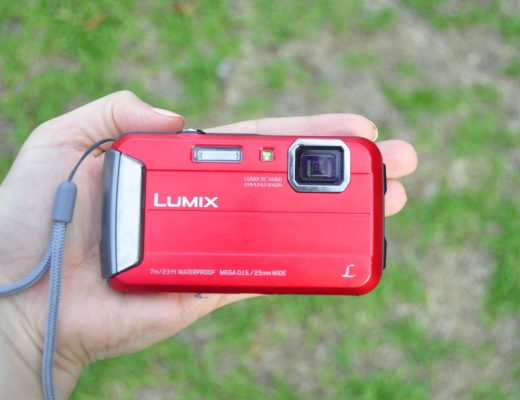 Panasonic Lumix FT25 waterproof camera