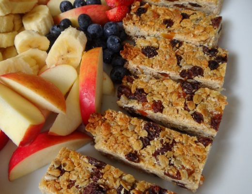 muesli slice recipe (nut free)