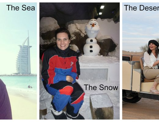Dubai - sea, snow and desert