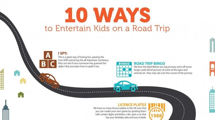 10 Ways to Entertain Kids on a Road Trip