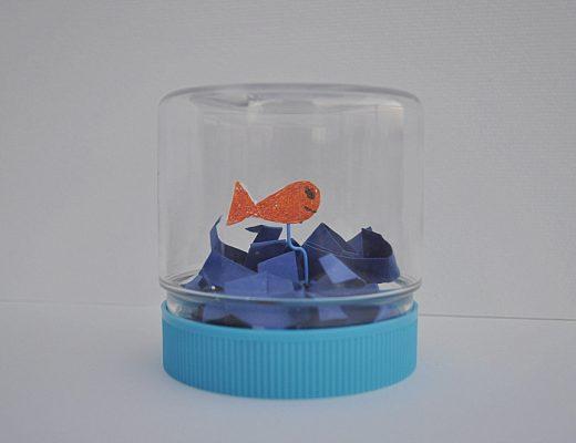 Fish in a jar