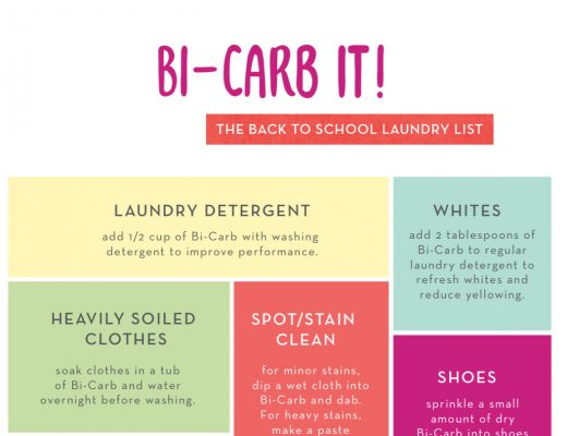 Bi-Carb in the Laundry