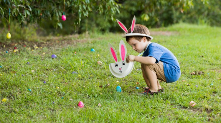 Backyard Easter Hunt