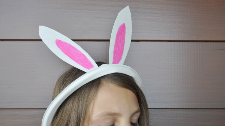 Paper Plate Bunny Ears & Easter | Be A Fun Mum - Part 2