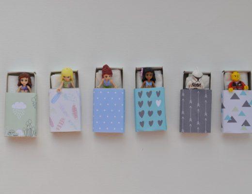 Matchbox LEGO Beds
