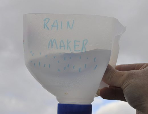 Milk Bottle Rainmaker