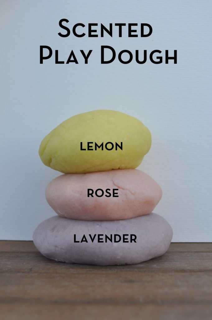 Scented Play Dough - smells delicious!