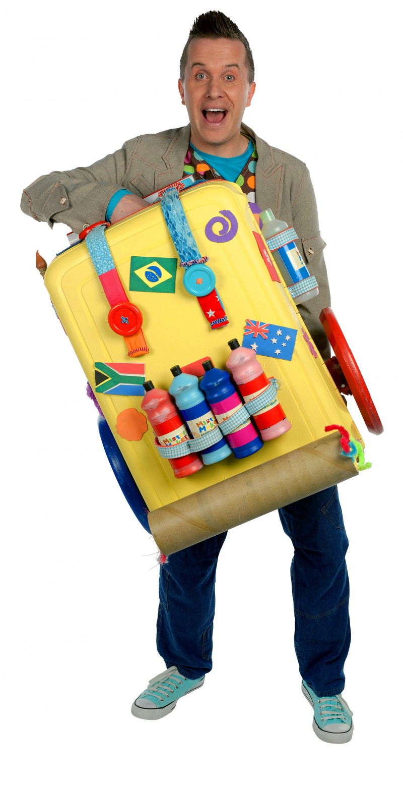 Mister Maker Suitcase Be A Fun Mum