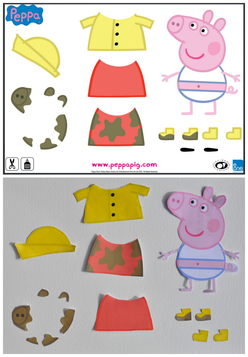 Peppa Pig Winter Activities amp Colouring