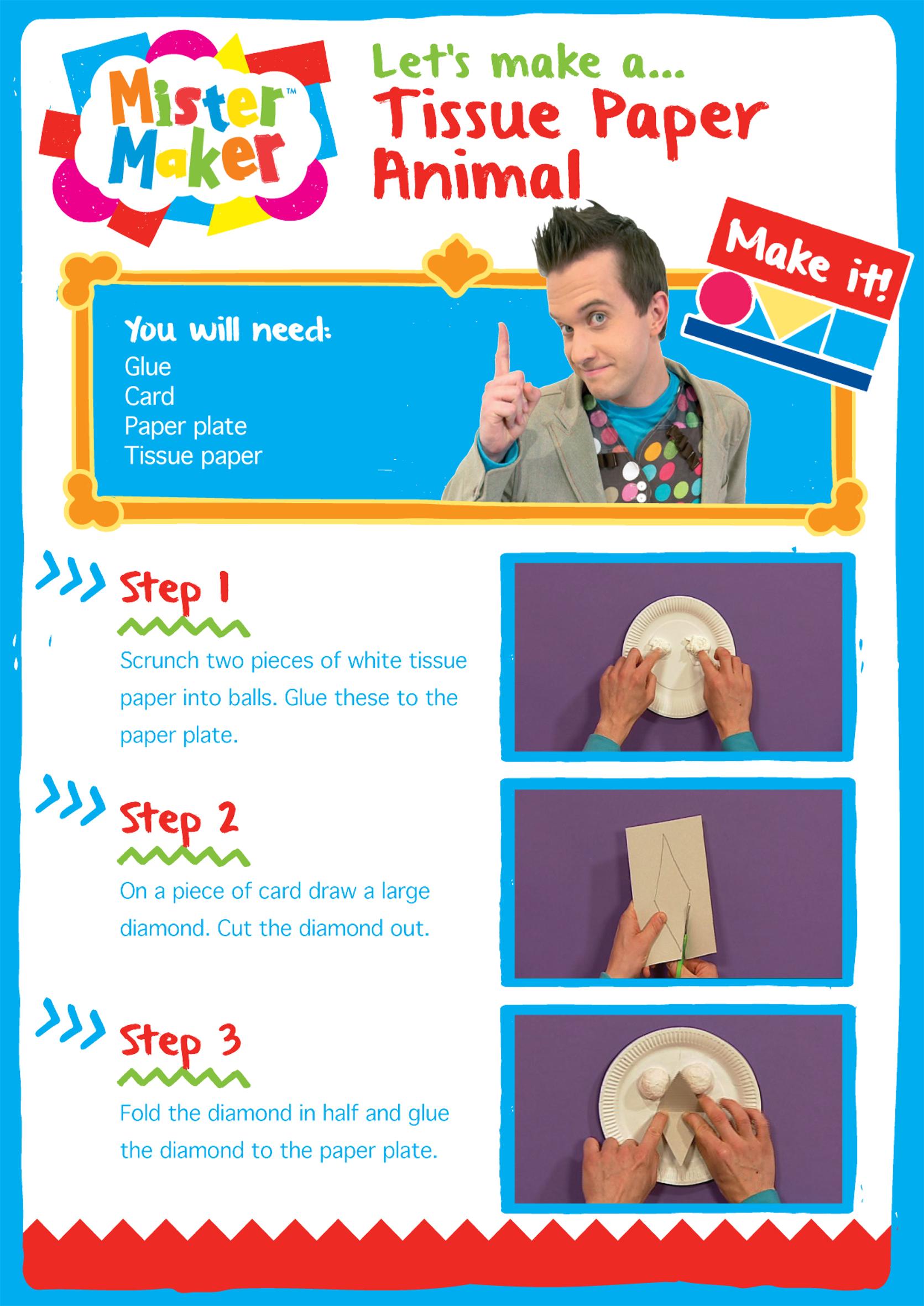 Mister Maker Paper Craft
