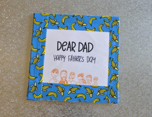 Father's Day Idea - Make a Mini Book