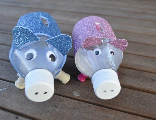bottle piggy bank