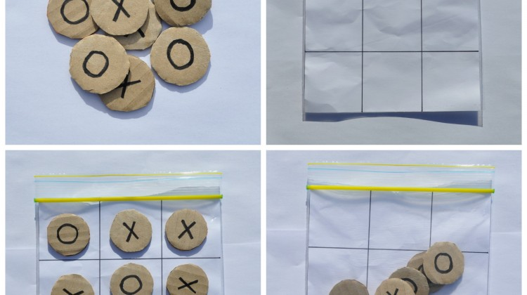 Travel Naughts & Crosses Game