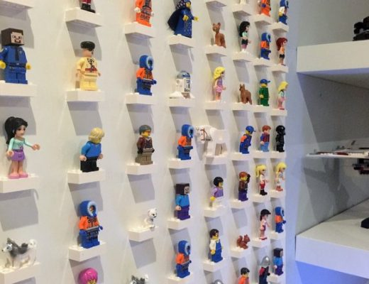 lego mini-figure display