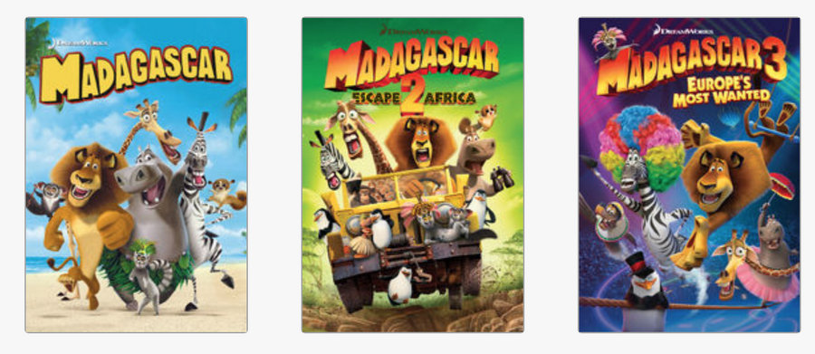 Madagascar 1,2 & 3 – Be A Fun Mum