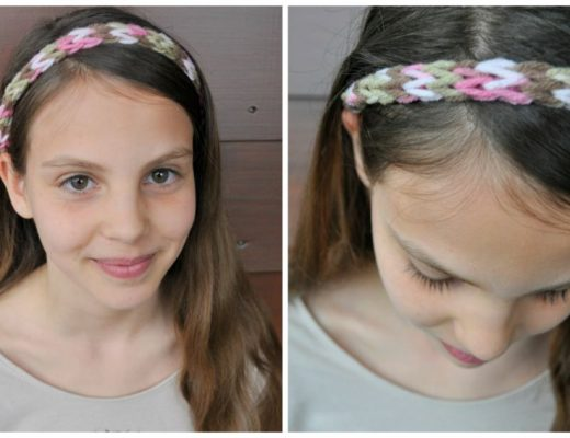 French Knit Headband