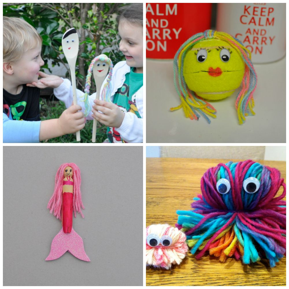Good Wool Craft Ideas For Kids Part - 6: Craft Ideas For Kids Using Wool