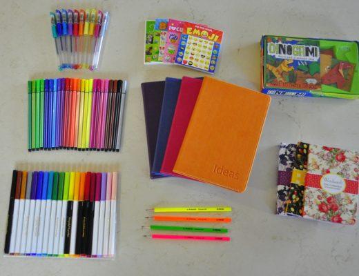 Stationery Travel Packs for Kids