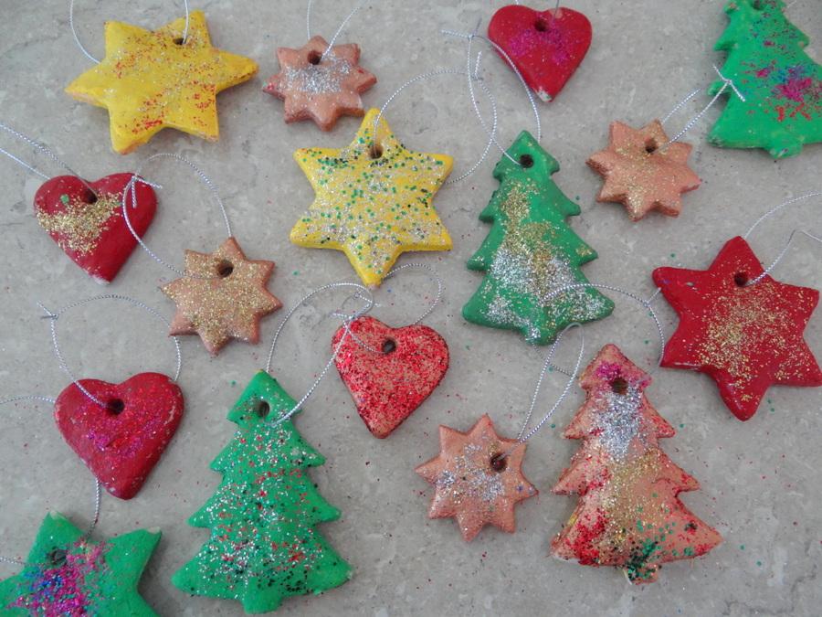 Salt Dough Ideas Christmas Decorations