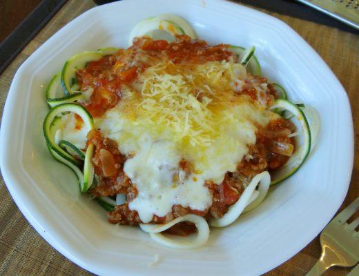 Zucchini Pasta recipe - Zoodle