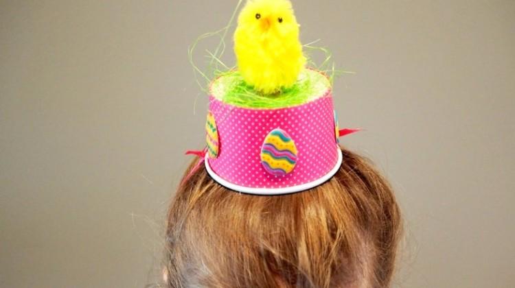 Three Last Minute Easter Hat Ideas