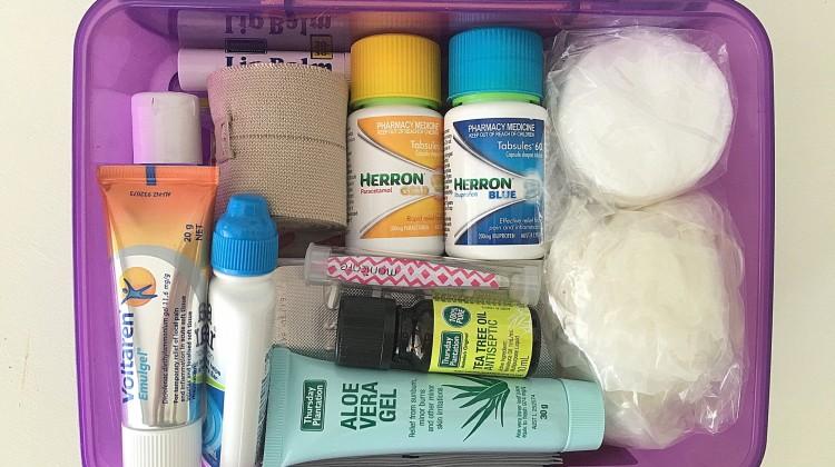 Travel First Aid Kit Essentials