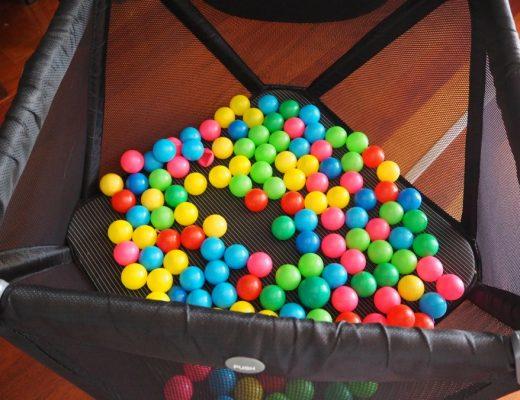 three play activities for plastic balls