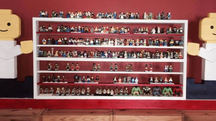 Cool Lego & Car Shelves