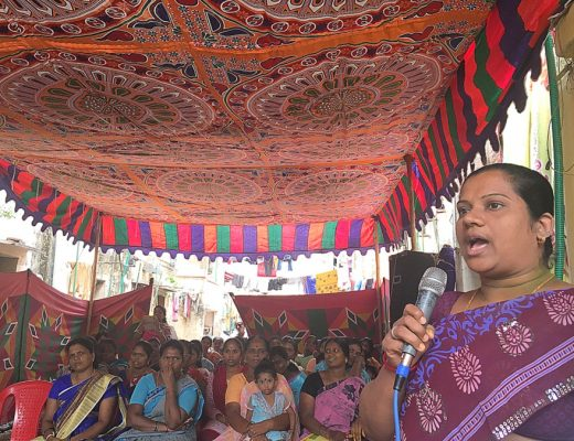 World Vision work in India - Women's Self Help Group