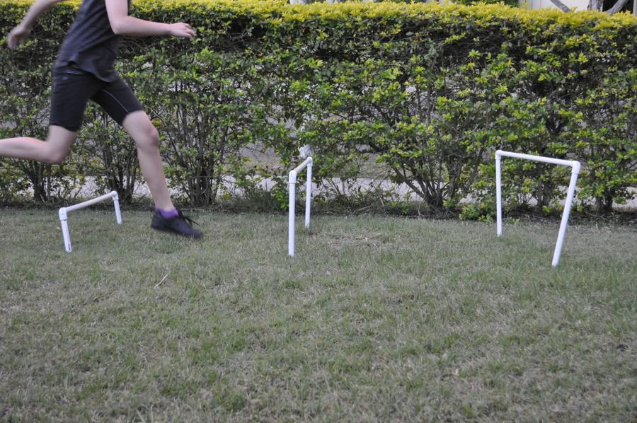 How to Make Backyard Hurdles