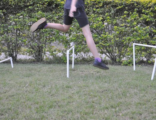 How to Make Backyard Hurdles