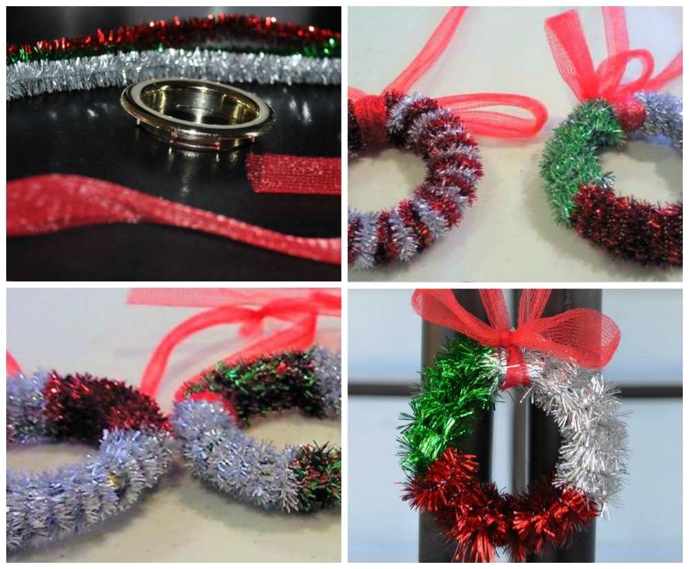 Tie A Christmas Tree Bow