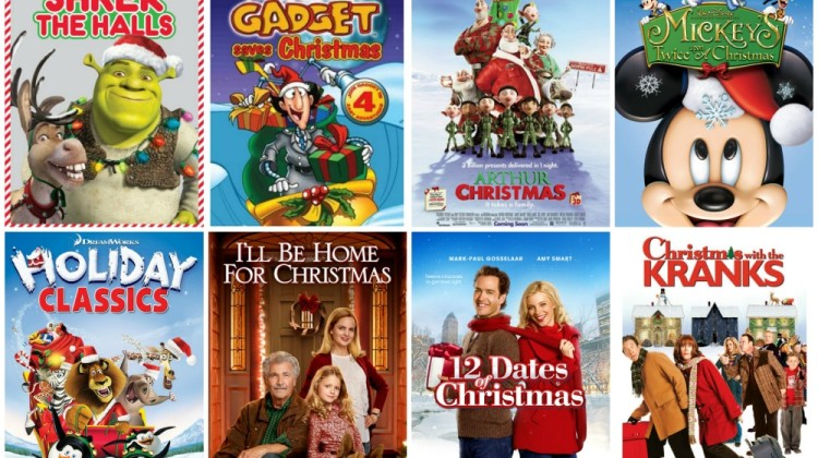 Christmas movie marathon on Netflix