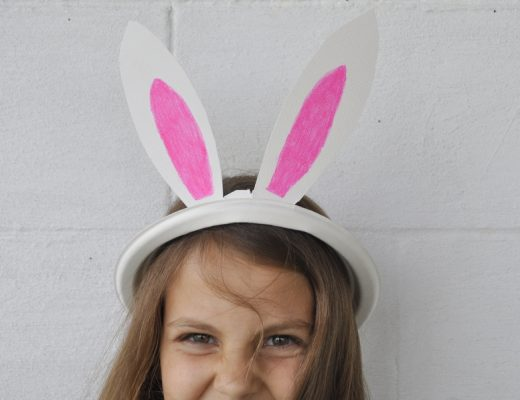 How to Make a Paper Plate Bunny Ears Plate