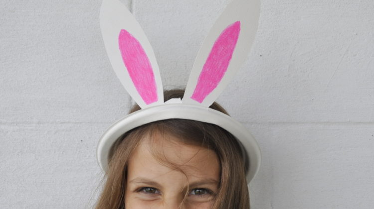 Bunny ears template be a fun mum how to make a paper plate bunny ears plate pronofoot35fo Gallery