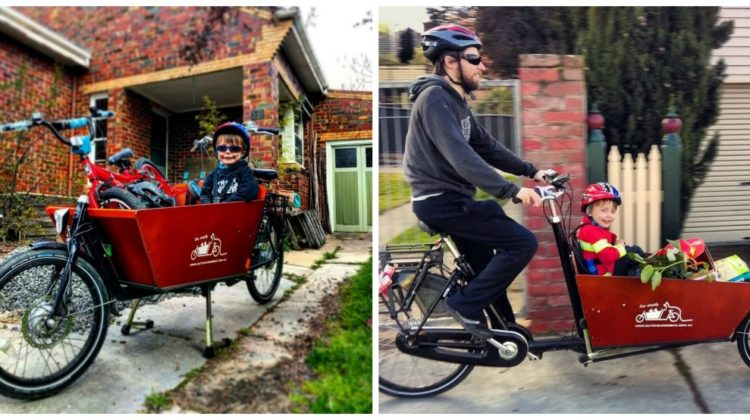 A Day in the Suburbs With A Cargo Bike