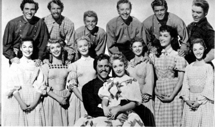 Seven Brides for Seven Brothers cast