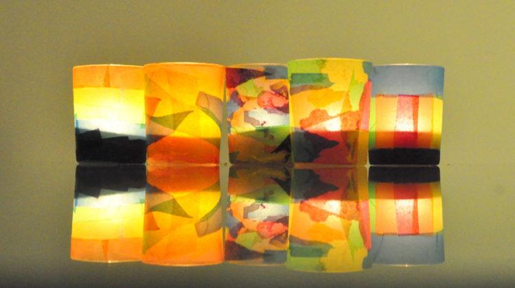 DIY Tea Light Lanterns