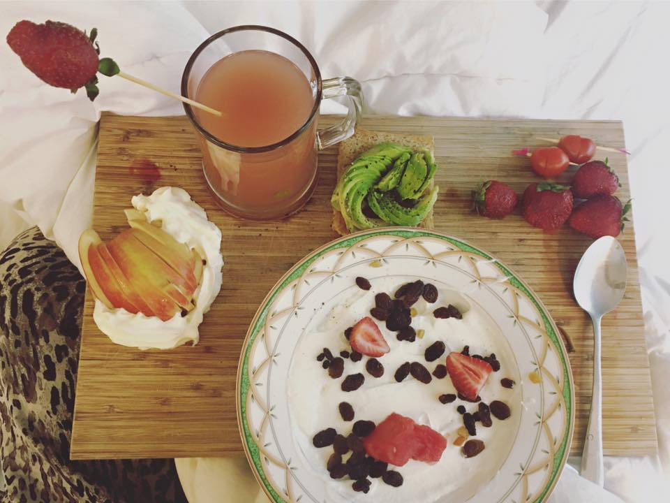Breakfast in Bed on Mother's Day