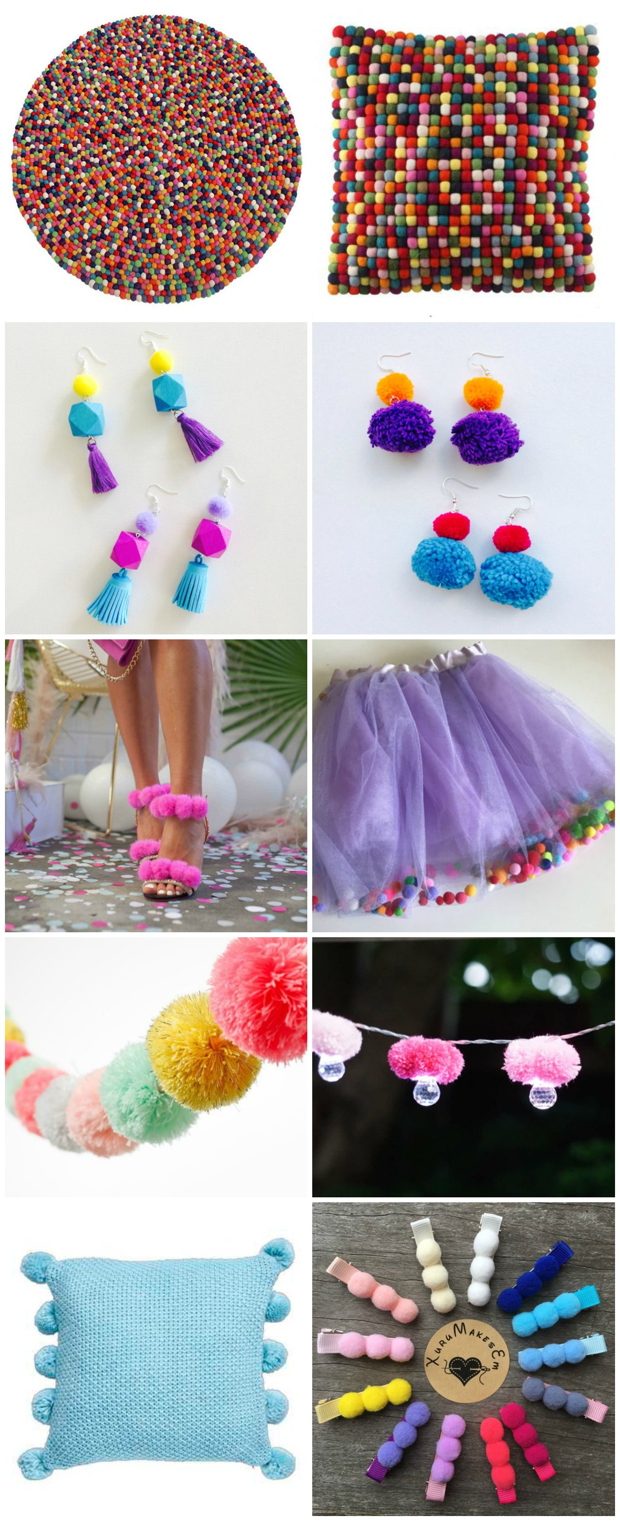 Gorgeous Pom Pom Products