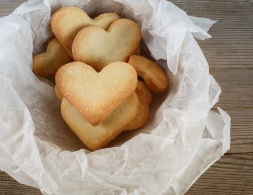 Heart Shaped Shortbread Recipe