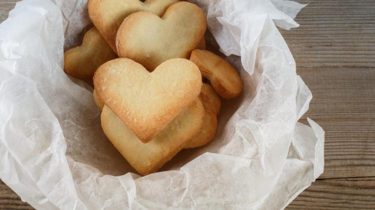 Heart Shortbread