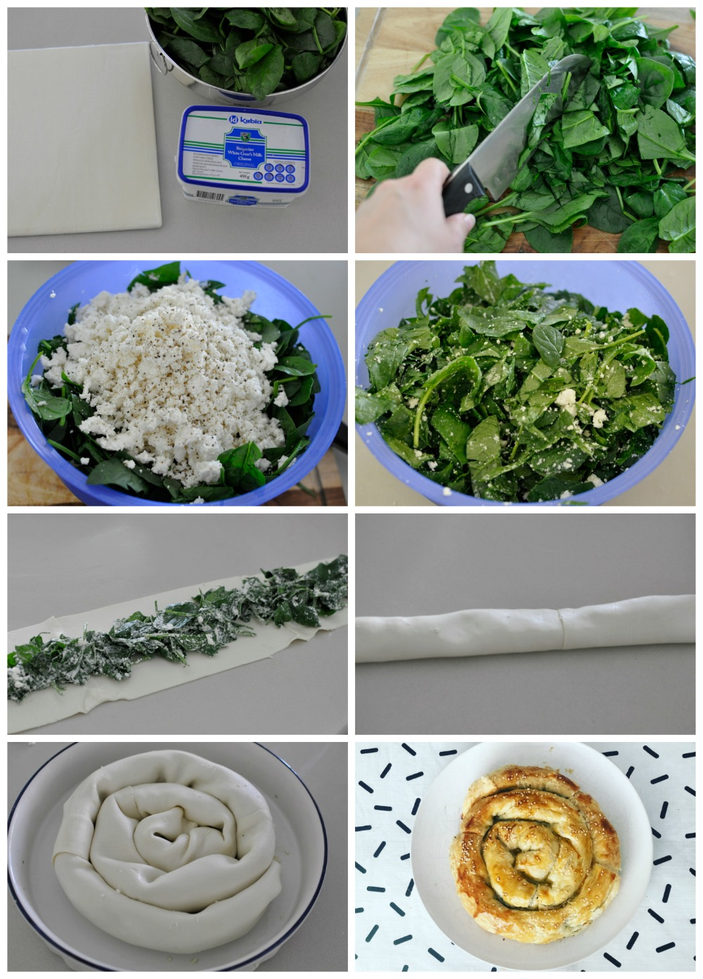 Spinach and Cheese Pastry Recipe