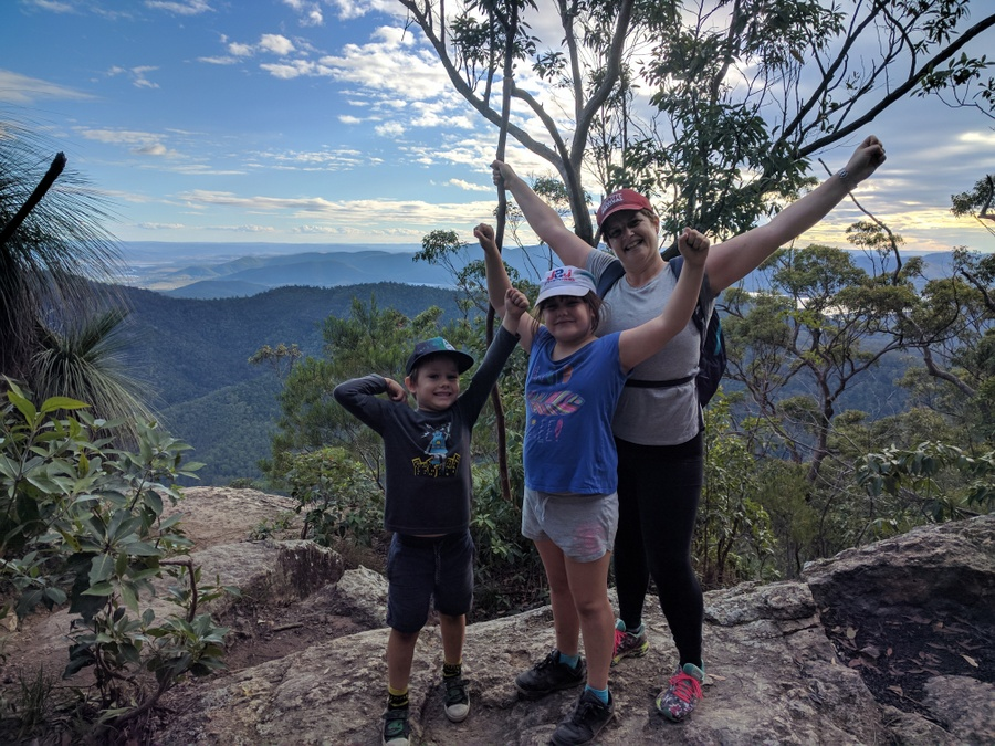 Hiking and trail blazing for families on a budget