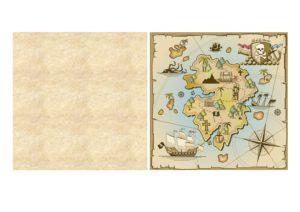 Pirate Map Template Be A Fun Mum