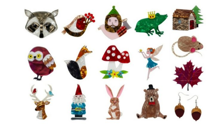 Childhood Storybook Inspired Brooches