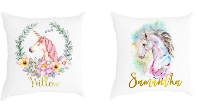 Whimsical Personalised Cushions